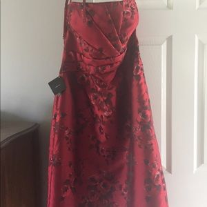 WHBM Strapless Dress.